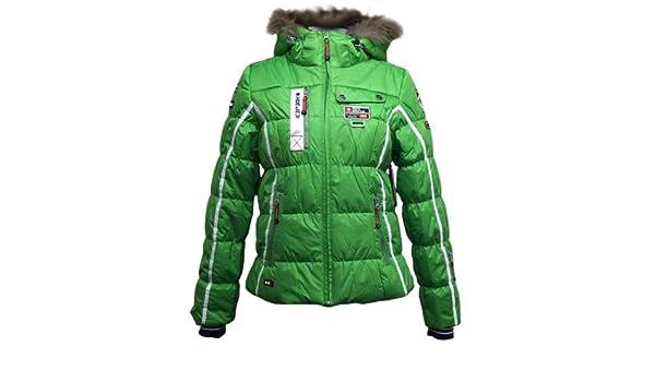 Icepeak Damen Skijacke Tuwa IA grün Gr. 42: : Sport