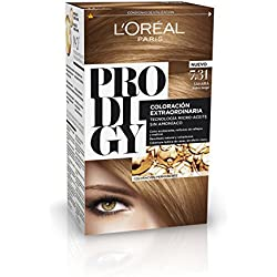 L'Oréal Prodigy Coloración Sin Amoniaco, Tono: 7.31 Rubio beige Sahara
