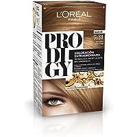 L'Oreal Prodigy Coloración Permanente - Tinte, color 7.31-sahara 4 pz, 200 gr
