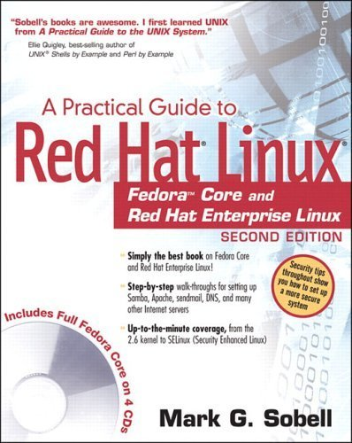 Practical Guide to Red Hat® Linux®: Fedora™ Core and Red Hat Enterprise Linux, A (2nd Edition) 2nd edition by Sobell, Mark G. (2004) Paperback par Mark G. Sobell
