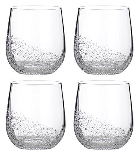 Broste Copenhagen Bubble Glas 0,35 l 4 Stk.