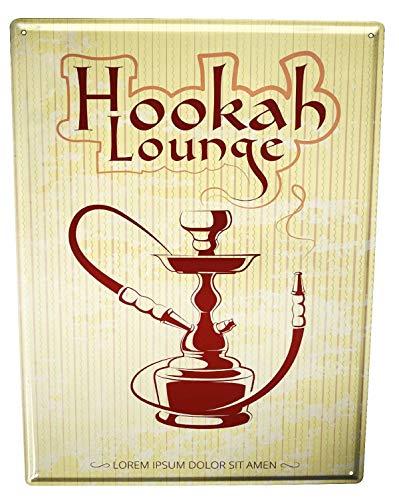 Blechschild XXL Tabak Shisha Lounge