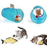AILUKI 26 Stück Katzenspielzeug Set mit Katzentunnel Katzen Spielzeug Variety Pack für Kitty - 2