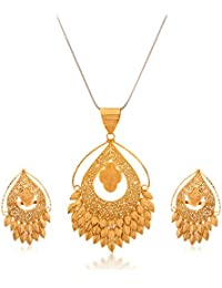 [Sponsored]Senco Gold Aura Collection 22k Yellow Gold Jewellery Set