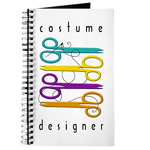 CafePress–Kostüm Design–Spiralbindung Journal Notebook, persönliches Tagebuch, Dot (Kostüme Comedy Film)