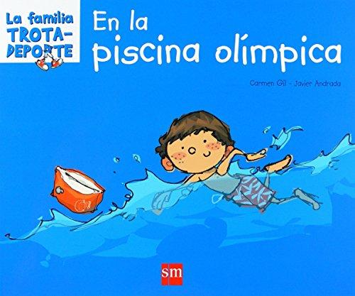 En la piscina olímpica (La familia trotadeporte) por Carmen Gil