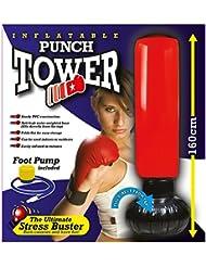 Punch Tour 160cm de haut Sac de frappe gonflable Tower formation que Fit le stress Buster