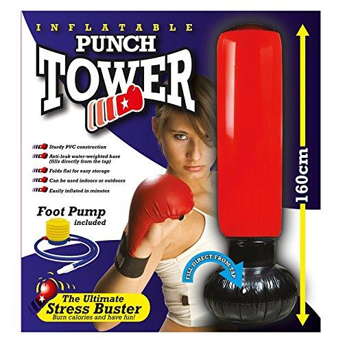 groß aufblasbar Boxsack Tower Training Keep Fit Stress Buster (Aufblasbarer Boxsack Für Erwachsene)
