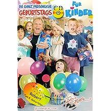Die ganz persönliche Kindergeburtstags - CD gesungen von Frank Zander. Der Name des Geburtstagskindes wird 6 mal im Lied genannt und auf die CD gedruckt.