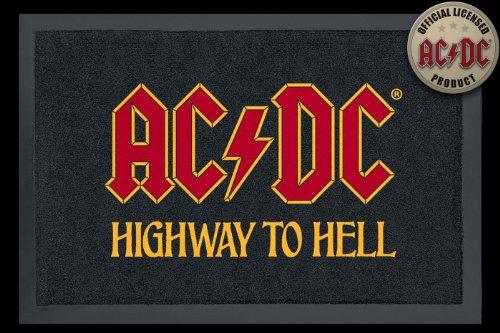 Rock Bites-Felpudo AC/DC Highway Puerta Alfombrilla