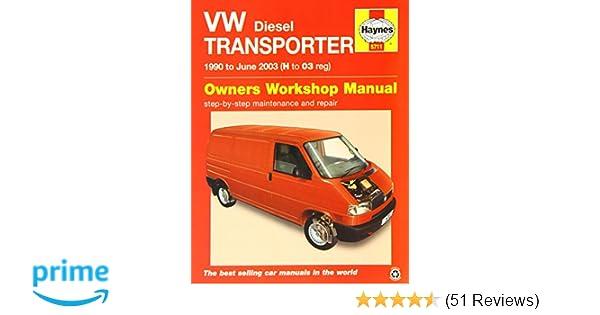 vw t4 transporter diesel 90 june 03 haynes repair manual amazon rh amazon co uk Haynes Repair Manual 1987 Dodge Ram 100 Haynes Repair Manuals Online