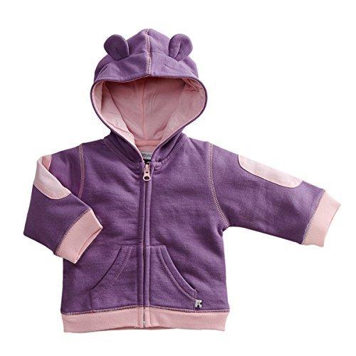 Babysoy Bunny Ears Fleece Hoodie Jacket (3T