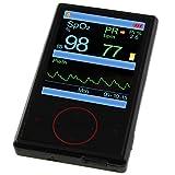 Pulsossimetro PULOX PO-600 saturimetro portatile con sensore esterno