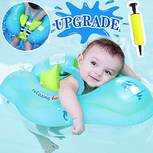 GBD Flotador de Natación para Bebés,Anillo de Natación Bebé Juguetes de Piscina...