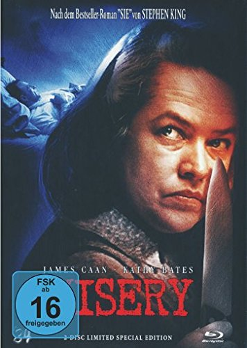 Misery - Limited Special Collectors Mediabook Edition auf 333 Stk. (Cover C) [Blu-ray] [1990]