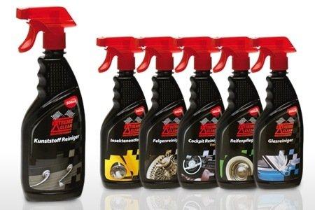 Extreme Clean Nettoyant pour le plastique/verre/Nettoyeur cuir Kit entretien nettoyage de voiture
