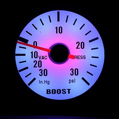 Druck-vakuum-messgeräte (Generic A1. num. 3298. Cry. 1.. S15,1cm 52mm, 52mm Aut Boost Vakuum ST Vacu Messgerät Ter 3automatische Turbo New E B 30PSI Druck blau HT New.. NV _ 1001003298-wruk23_ 840)
