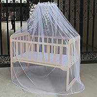Skyoo Red para bebé, guardería, cuna, cama para niños o cuna, mosquitera (blanco)