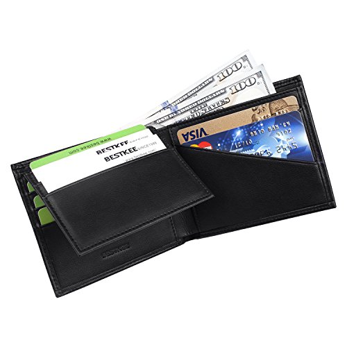 bestkee-mens-slim-bifold-wallets-rfid-blocking-genuine-leather-credit-card-holder-flip-up-id-window