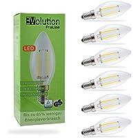 Evolution® E14 3W 350LM | Filamento LED lampadine a incandescenza | Lampada 230V AC 270 (Ambra Specchio)