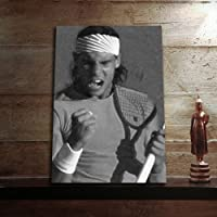 RAFAEL NADAL - Original Art Print (A4 - Signed by the Artist) #js008