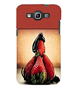 PrintDhaba Strawberries D-2827 Back Case Cover for SAMSUNG GALAXY QUATTRO (Multi-Coloured)