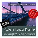 Polen Garmin Karte TOPO 4 GB microSD. Topografische GPS Freizeitkarte für Fahrrad Wandern Touren Trekking Geocaching & Outdoor. Navigationsgeräte, PC & MAC
