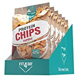 Best Body Nutrition Fit4Day Protein Chips Paprika, 450 g