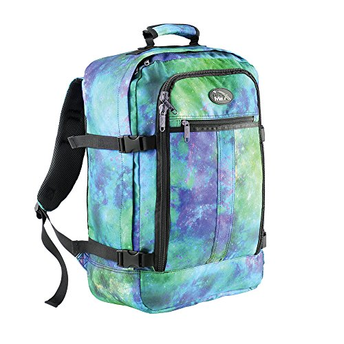 Cabin Max Backpack Flight Approved Carry On Bag Massive 44 litre Travel Hand Luggage 55x40x20 cm (Galaxy Blue)