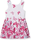 Happy Girls Mädchen Kleid Meadow, All Over Print, Gr. 140, Rosa (pink 36)