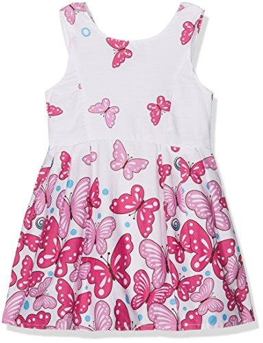 Happy Girls Mädchen Kleid mit Print Rosa (pink 36) 152