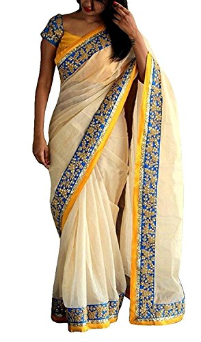 Macube Women's Latest Multi Color Designer Sarees New Collection 2018 today Low...
