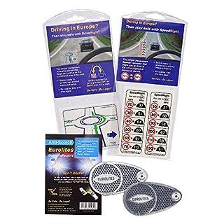 EUROLITES Scheinwerferadapter + Speed rechts Aufkleber + Drive rechts Lane Gerät