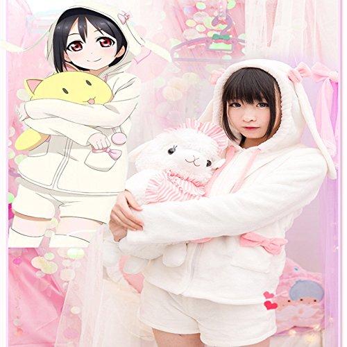 Gorgeous Japanisches Anime Cosplay Kleid LIEBE LIVE! arrow Zeni geladen Kaninchen werden (Liebe Live Cosplay Kostüm)