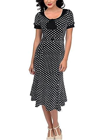 Sparkling YXB Women's Pencil Dress Xx-Large Polka Dot