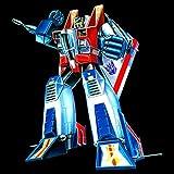 Transformers Starscream G1 Official Women's T-Shirt (Black) (X-Large) Test