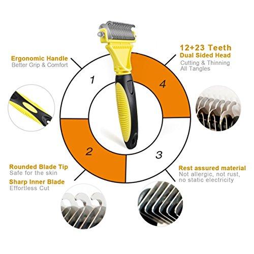 Zoom IMG-2 morpilot toelettatura professionale spazzola attrezzi