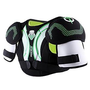 Sharplace Eishockey Schutzkleidung Hockey Schulterpolster Schulterschutz für Erwachsener