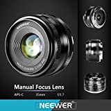 Neewer NW-E-50-2.0 50mm f/2.0 Manueller Fokus Prime