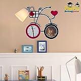 Lampada da parete camera dei bambini casa miglioramento bicicletta lampada da parete camera dei bambini bambino camera da letto cartone animato led,dare 4 watt LED luce calda bolla (nella foto)