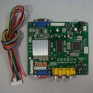 CGA/EGA/RGB/ to VGA GAME video converter board 1 VGA output game convert GBS8200