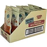 Goood Boy Dog Treats Chicken Fillets with Rice Bones, case of 8 x 100g packs