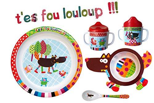 EBULOBO - Coffret Repas Complet Mixte - Cadeau Naissance -...