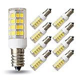 lampaous 5W e14LED 40W 400lm Bianco, ricambio per lampade ad incandescenza, 4500K, Angolo 360°, LED, lampadine a LED, Confezione da  pezzi