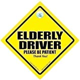 Caution Elderly Driver Car Sign, Caution Elderly Driver, Car Sign, Bumper Sticker, Baby on Board, Driving Sign, Automobile Sign, Vehicle Sign, Joke car signElderly Driver Sign, Caution Elderly Driver Sign, Baby On Board Sign Style, Bumper Sticker Sign, Baby on Board, Decal, OAP, Car Sign, Elderly Driver Car Sign, Decal,