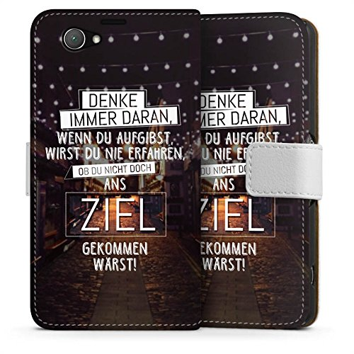 sony-xperia-z1-compact-flip-tasche-schutz-hulle-walletcase-bookstyle-workout-spruche-motivation