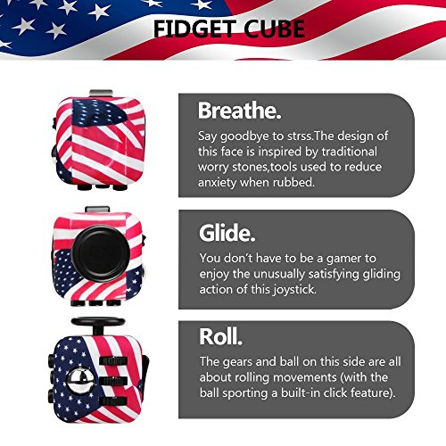 Wangyue NEW Camouflage Series of Fidget Toy Fidget Cube Stress Reducer Relieves Stress And Anxiety Toy - 5