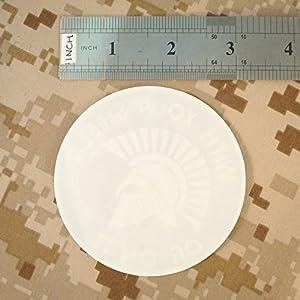Molon Labe Multicam Black Spartan Helmet Morale Blackout Tactical Sew Thermocollant Écusson Patch