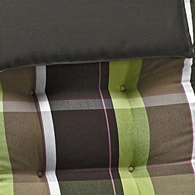 4 Luxus Auflagen für Hochlehner 9 cm dick mit Kopfkissen Miami 90511-600 (ohne Stuhl) von Möbelträume auf Gartenmöbel von Du und Dein Garten