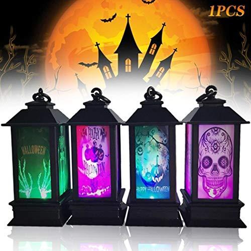 Jintes Lámpara LED de Halloween Luces Decoración del hogar Luces nocturnas Creativas Iluminación Nocturna, 1 Pcs